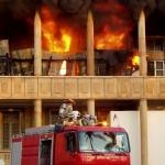 Baghdad_fire_department_engine_Iraq